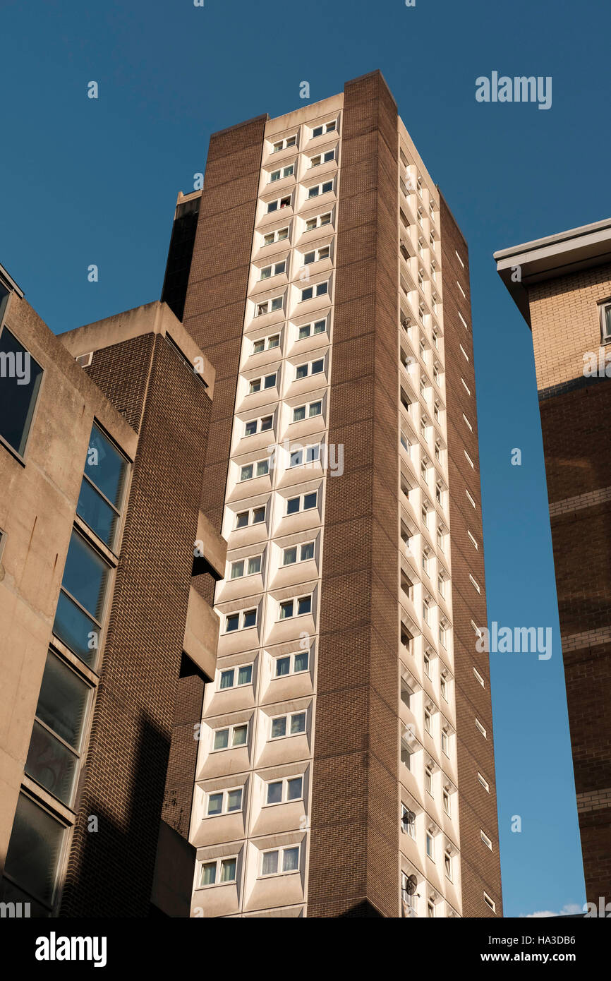 Council Housing-Middlesex Street Estate,Petticote Square,Tower Hamlets,London - Stock Image