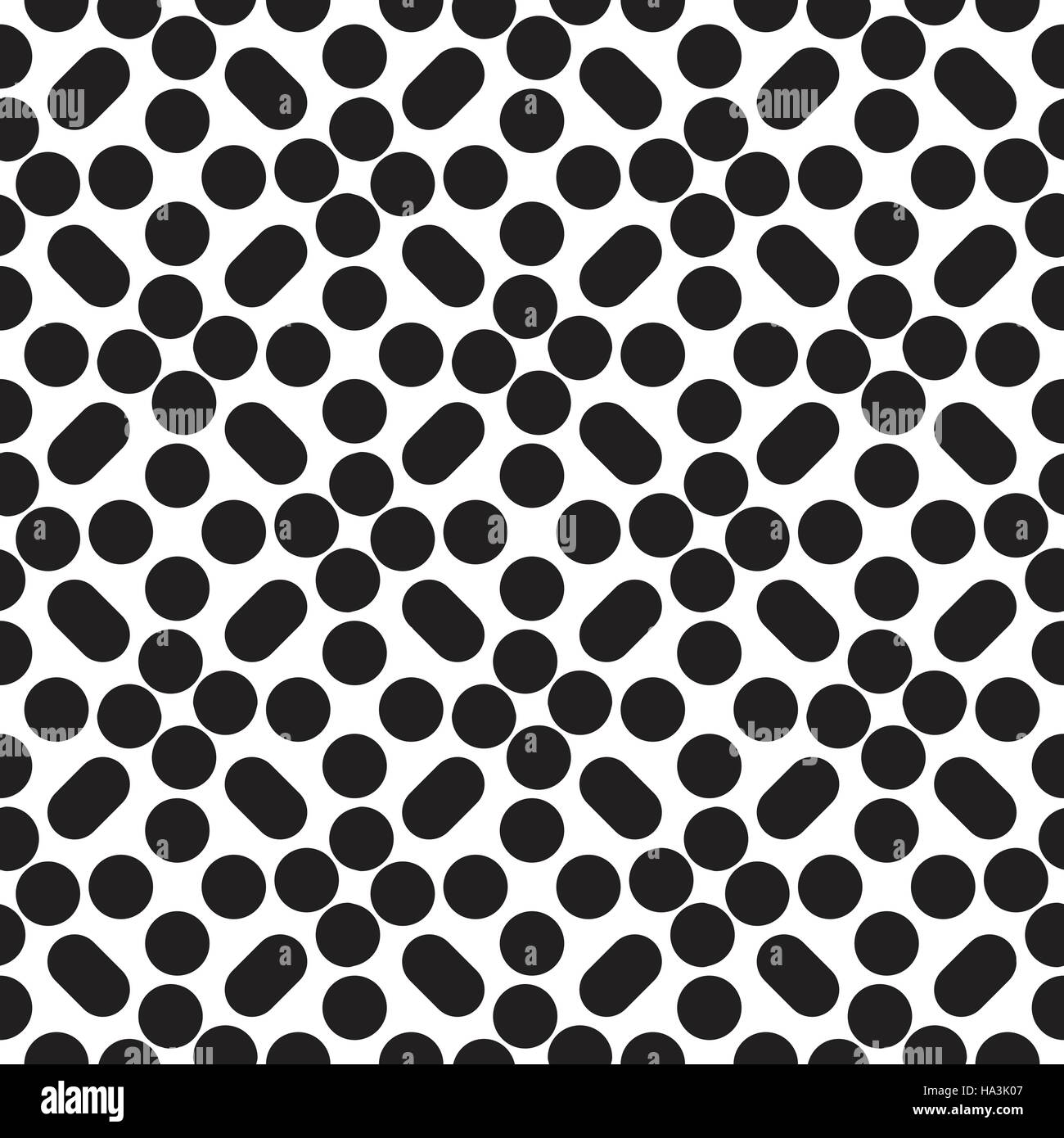 Seamless vector pattern - Stock Image
