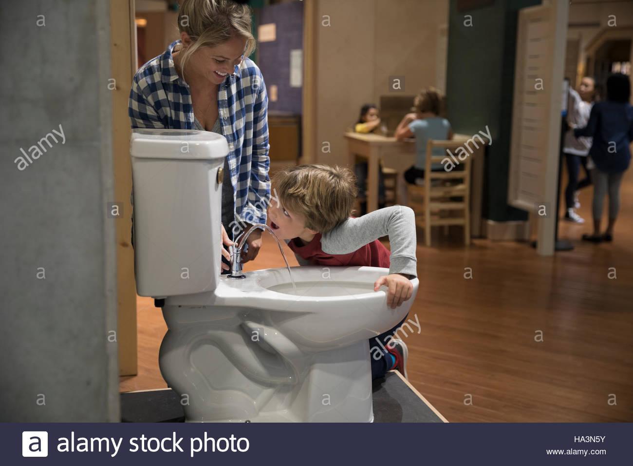 Child Toilet Stock Photos & Child Toilet Stock Images