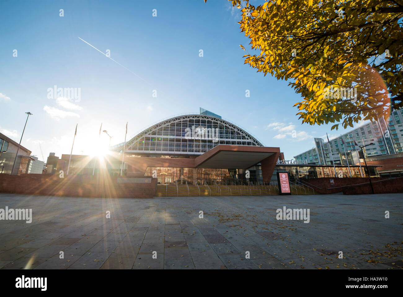 Manchester Central, formally the G-MEX centre. - Stock Image