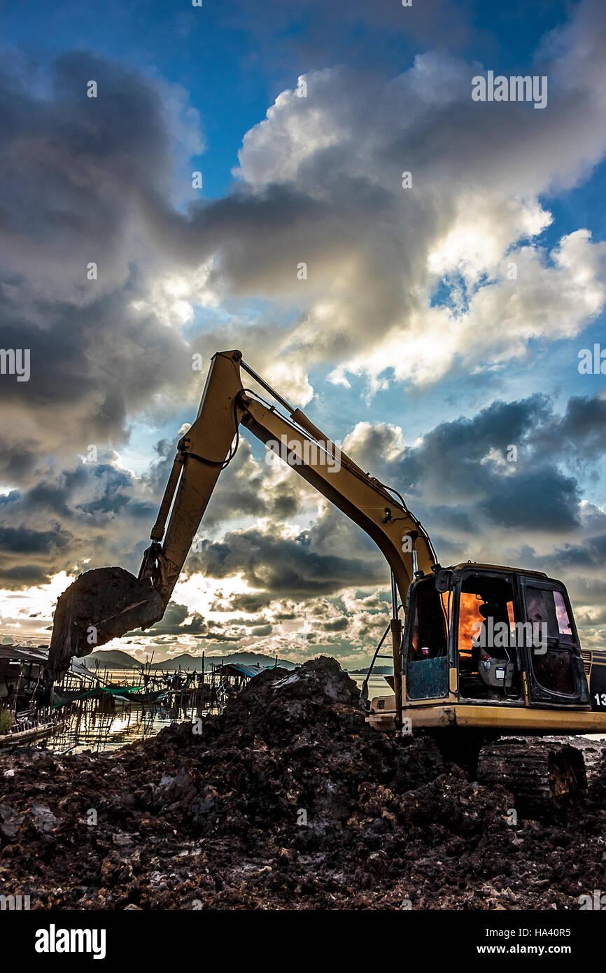 Excavator Stock Photos & Excavator Stock Images - Alamy