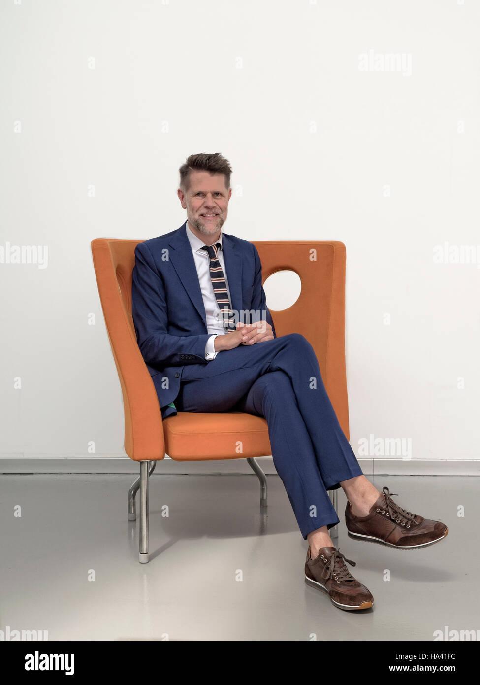 Klaus Busse head of design at Fiat Centro Stile Stock Photo