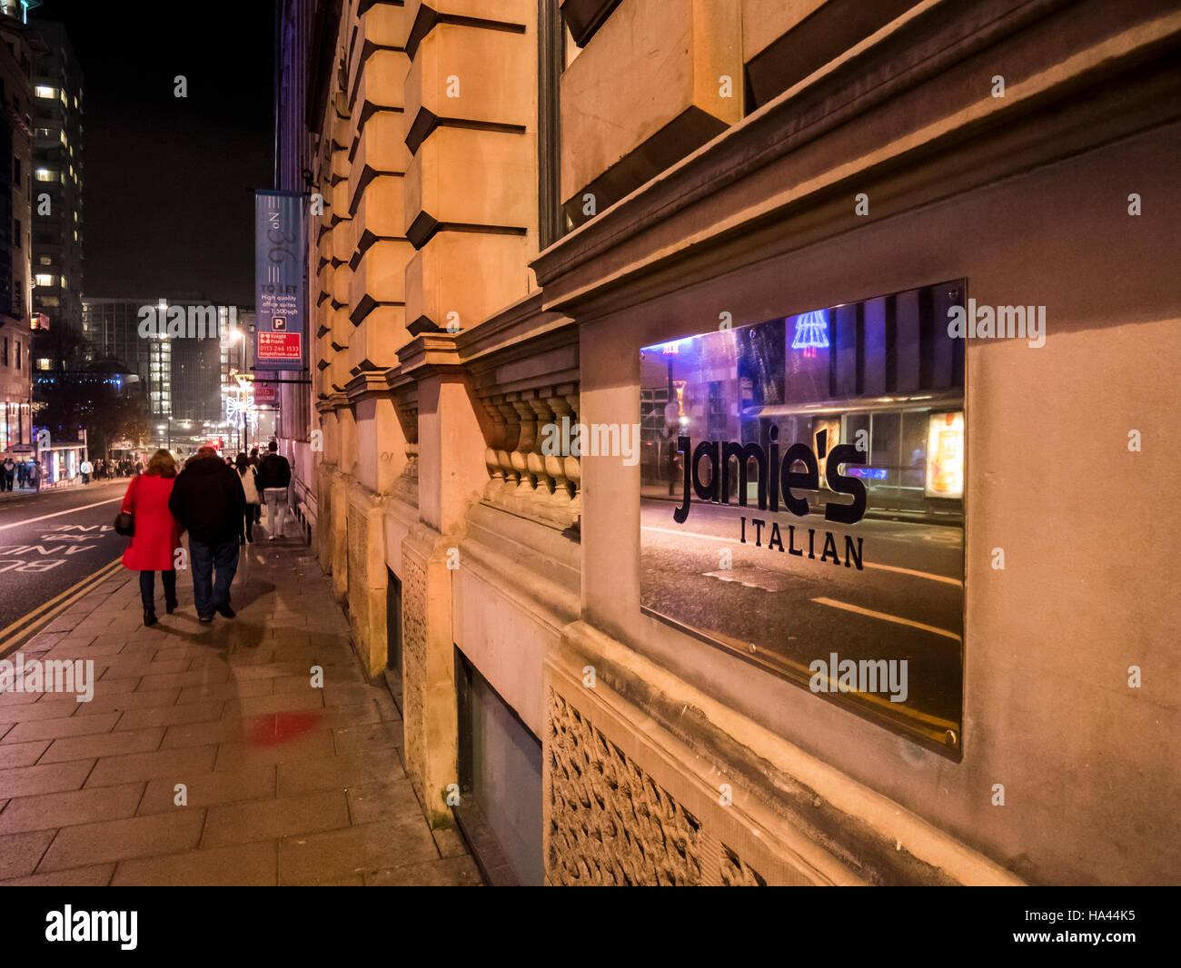 New Italian Restaurants In Leeds City Centre
