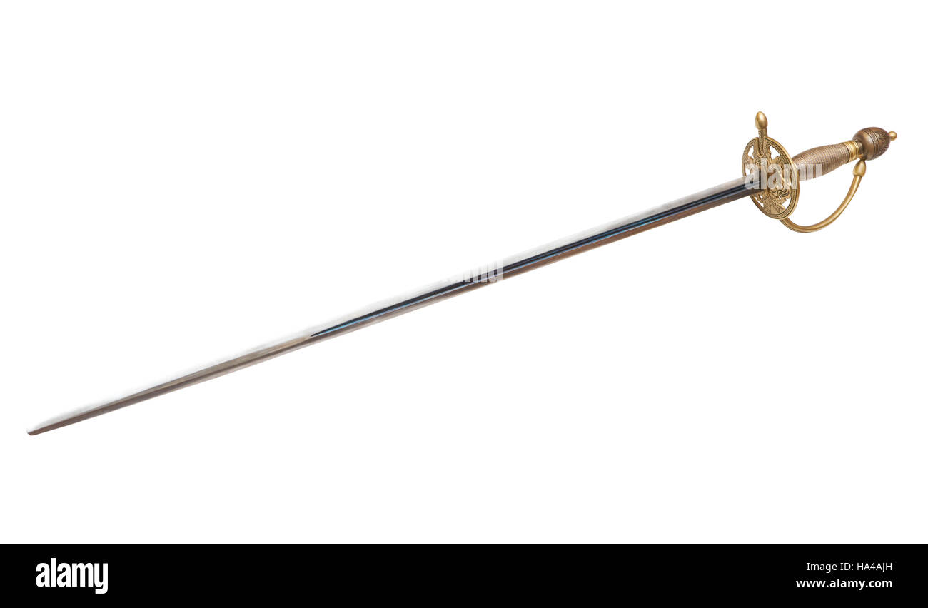 Rapier without sheath - Stock Image