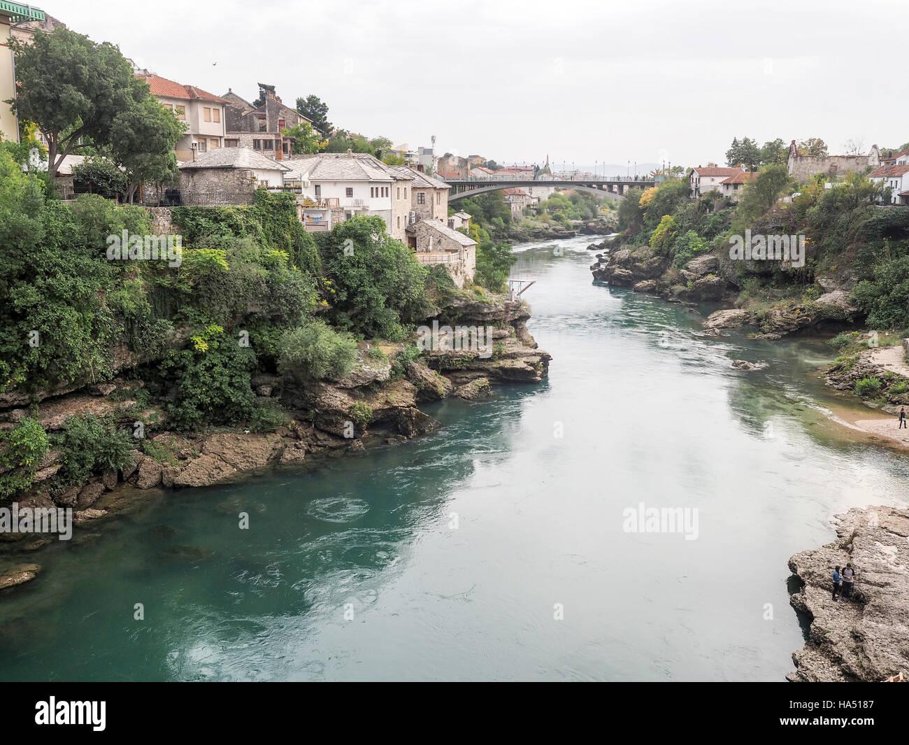 Mostar Bosnia and Herzegovina - Stock Image