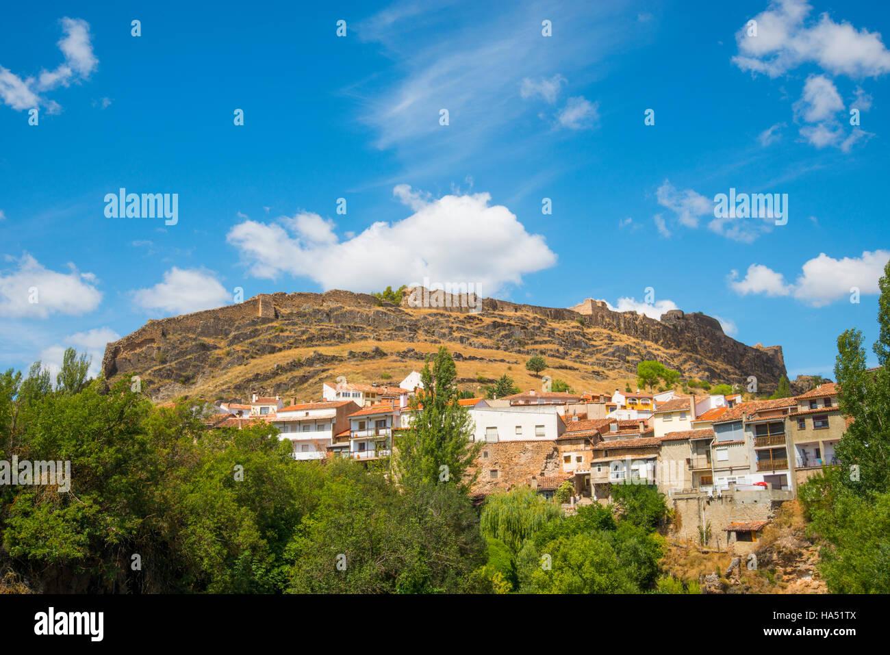 Overview. Cañete, Cuenca province, Castilla La Mancha, Spain. - Stock Image