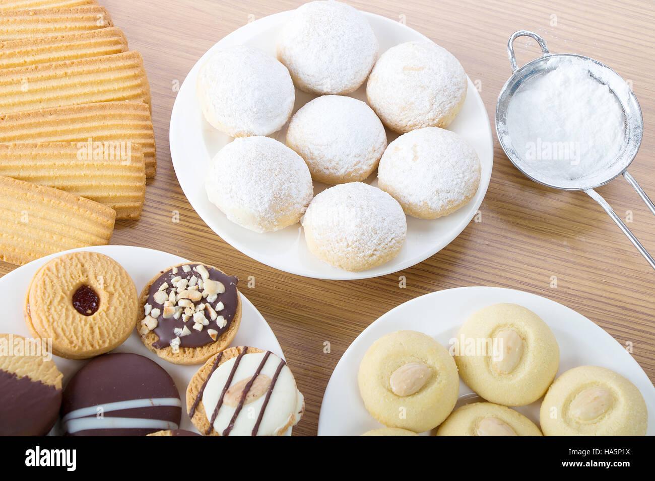 Eid El Fitr Cookies - Stock Image