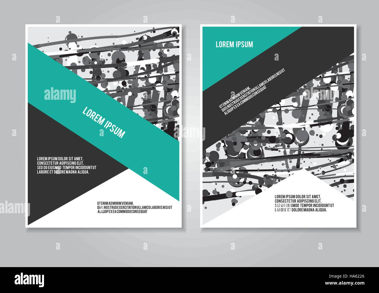 Cover design annual report brochure. Booklet layout creative Stock ...