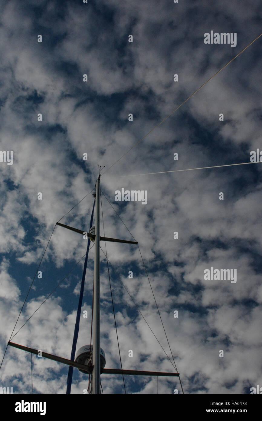 Twin Mast Sailing Boat Stock Photos & Twin Mast Sailing Boat