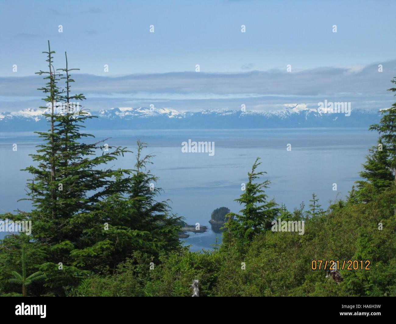 departmentofenergy 9076328317 Kake, Alaska landscape - Stock Image