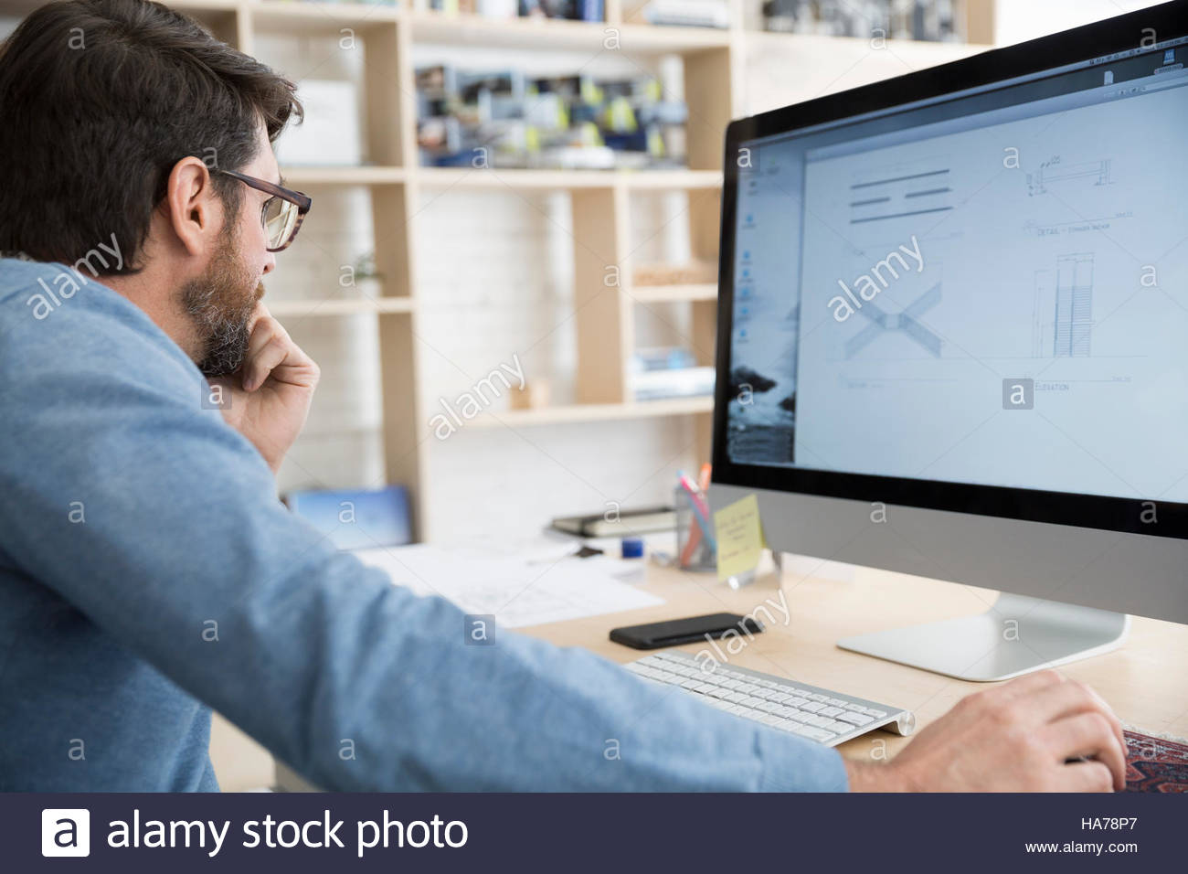 Computer Diagram Stock Photos Images Alamy Glass On The Electronic Schematic Diagramideal Technology Background Architect Reviewing Digital In Office Image