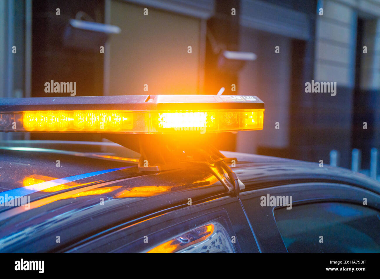 Flashing Light Stock Photos Images Alamy Lamp Alarm Automatic An Amber On Emergency Response Car Image