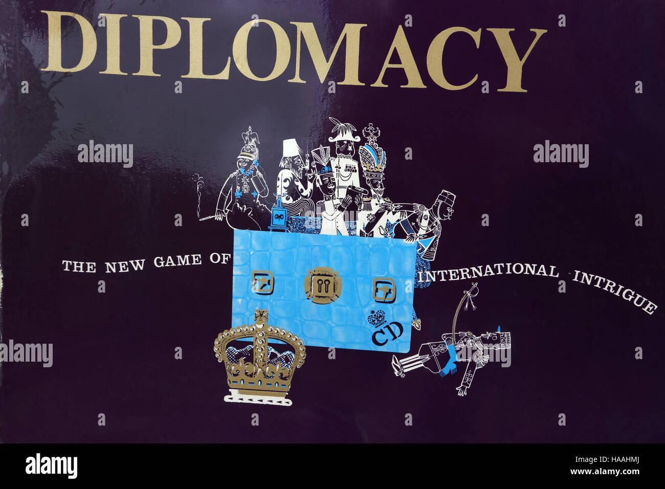 Diplomacy Board Game - Stock Image