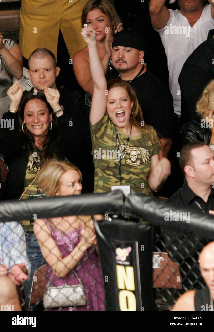 Mandy Moore During Ufc 86 Stoc...
