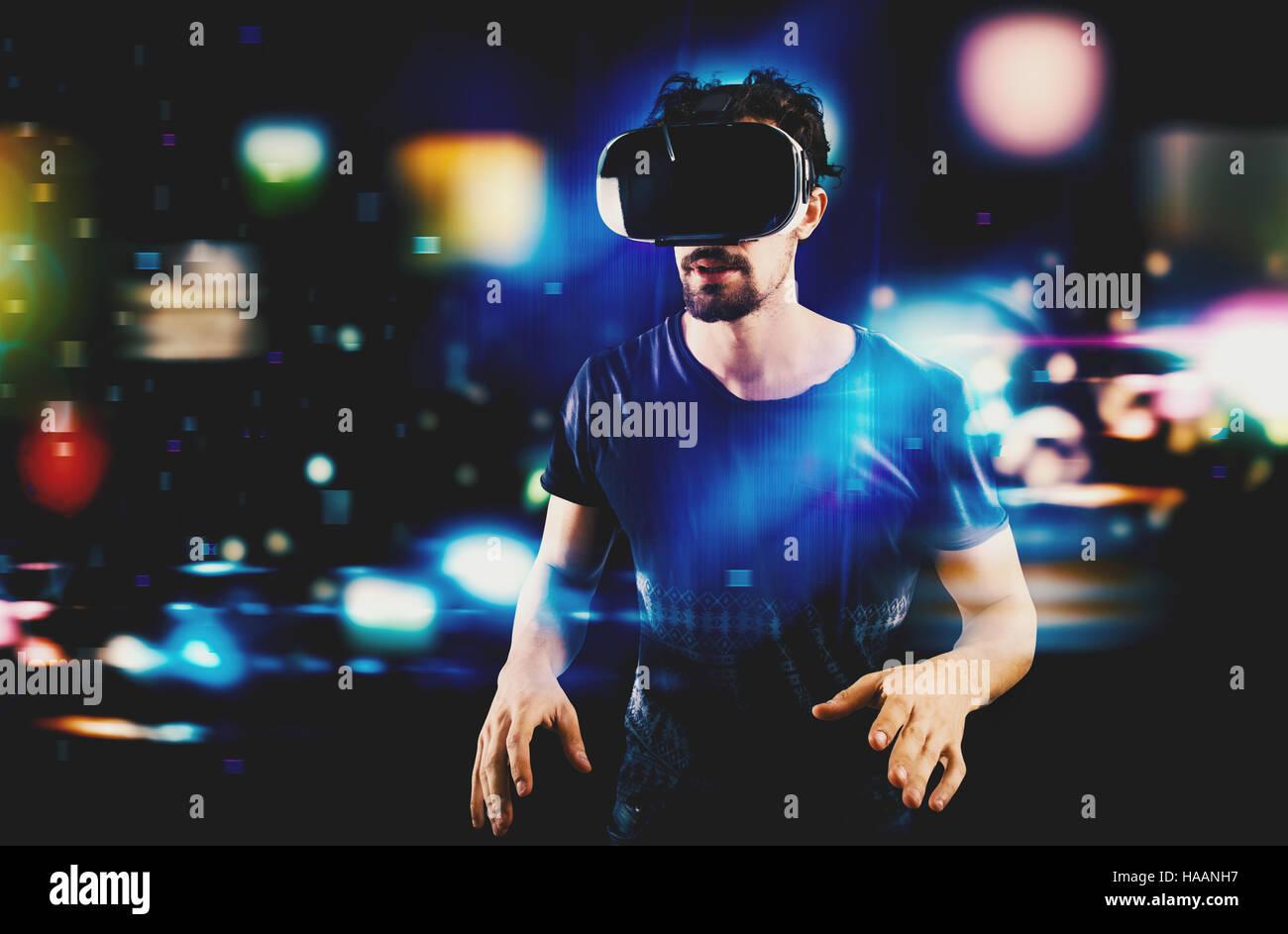 Futuristic multimedia - Stock Image