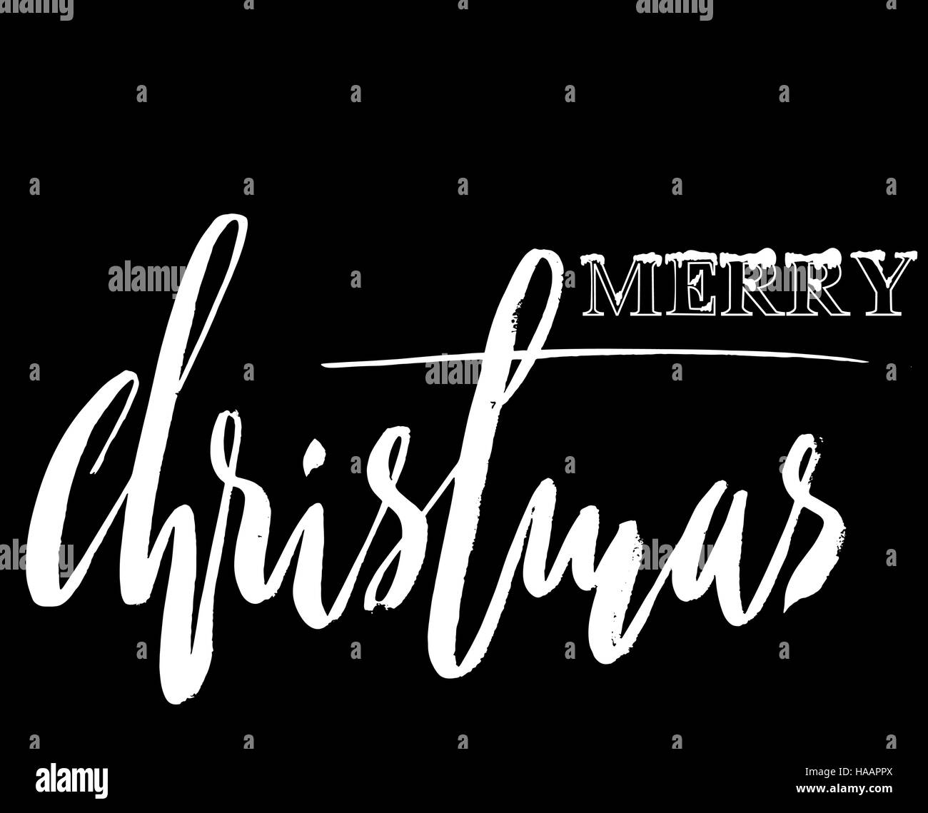 Christmas Greetings Black And White Stock Photos Images Alamy