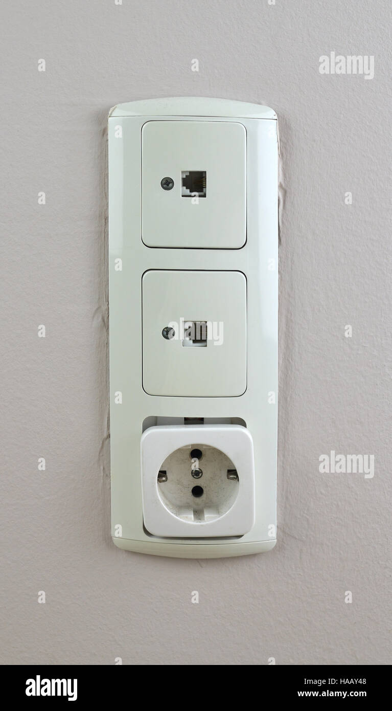 Incredible Ethernet Port Wall Ethernet Plug Stock Photos Ethernet Port Wall Wiring 101 Orsalhahutechinfo
