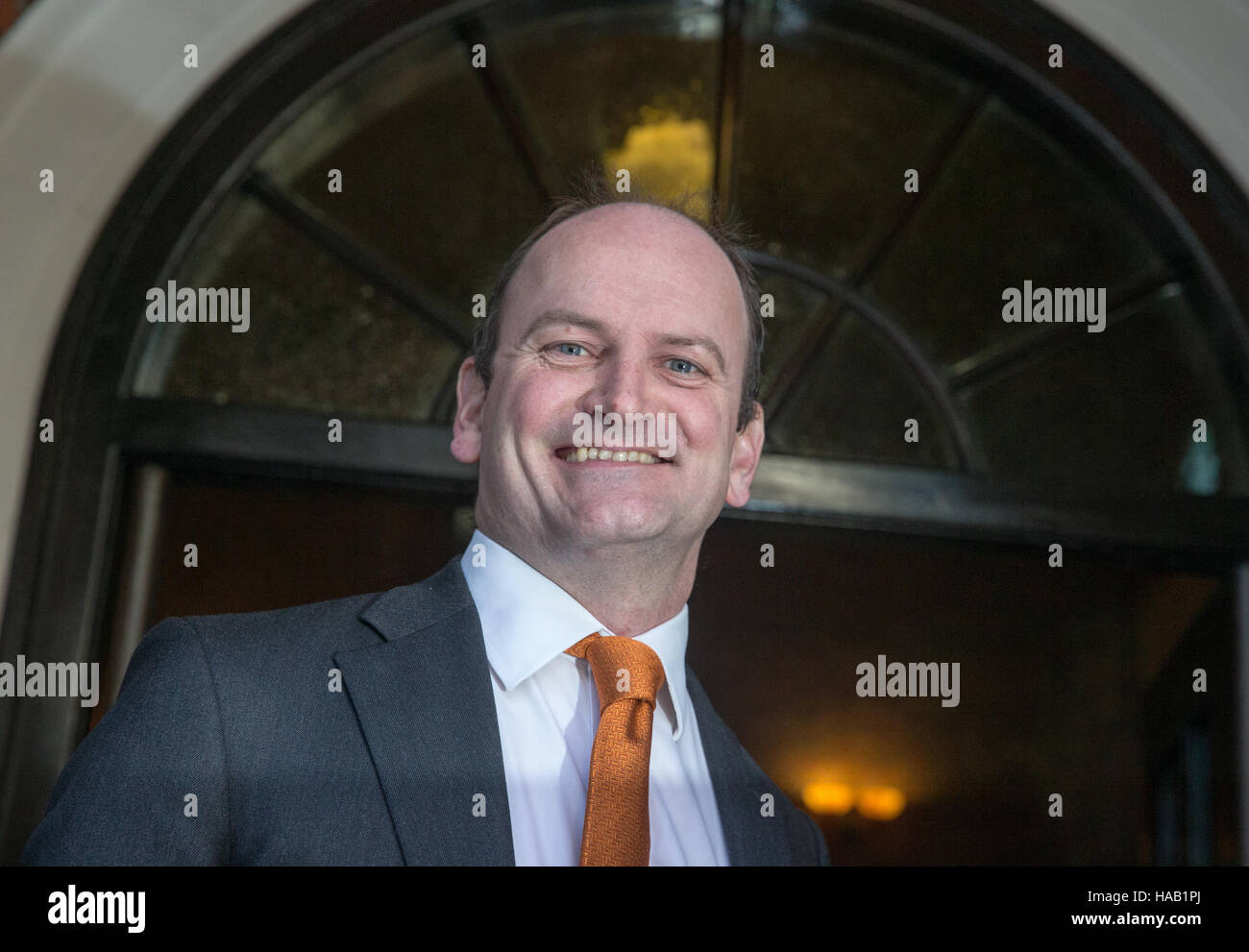 Douglas Carswell,MP for Clacton on Sea,at the announcement of the new UKIP leader in Westminster - Stock Image