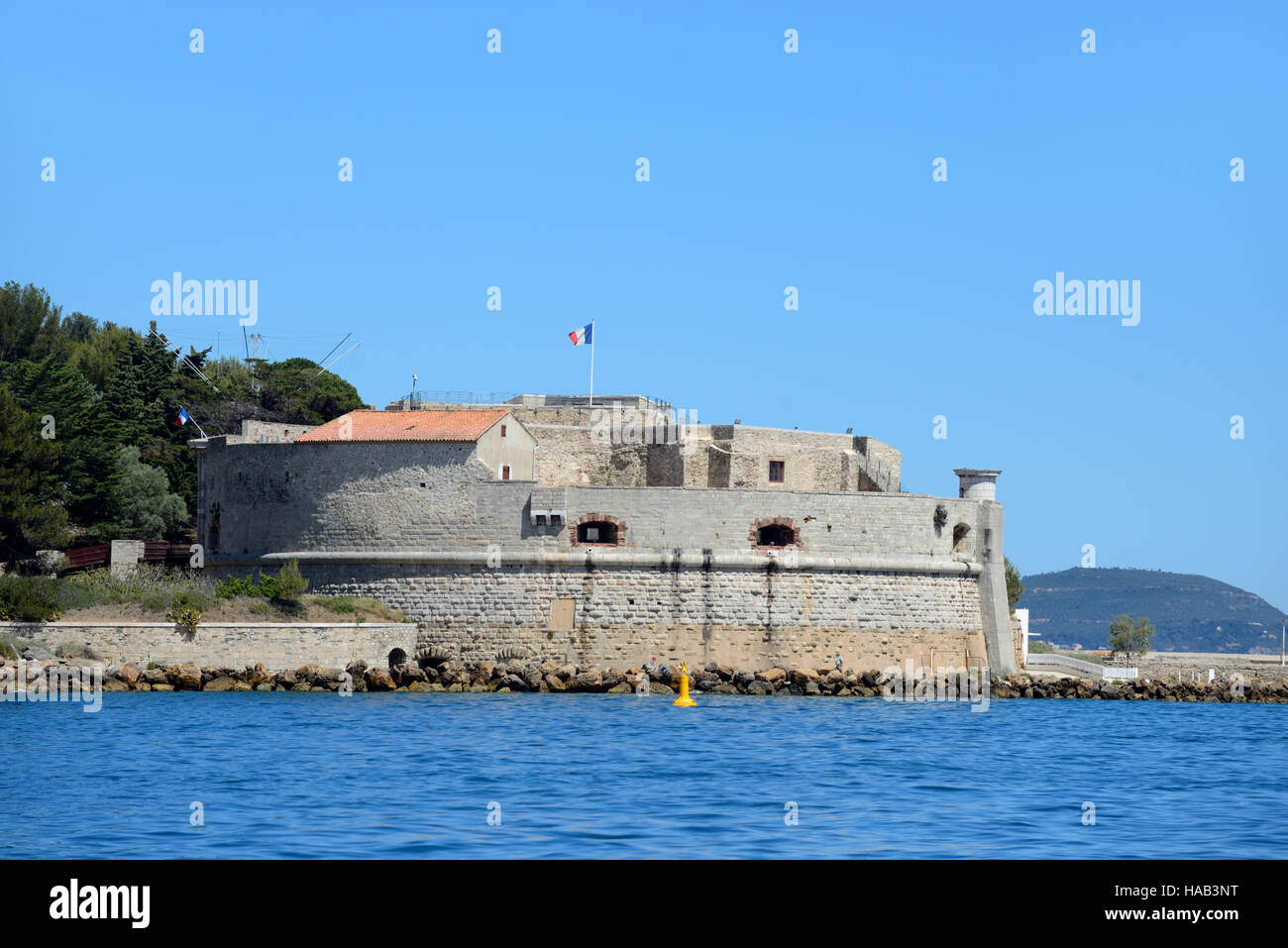 La Tour Royale Fort (1514), one of a Series of Medieval Forts built by Vauban to Protect Toulon - Stock Image