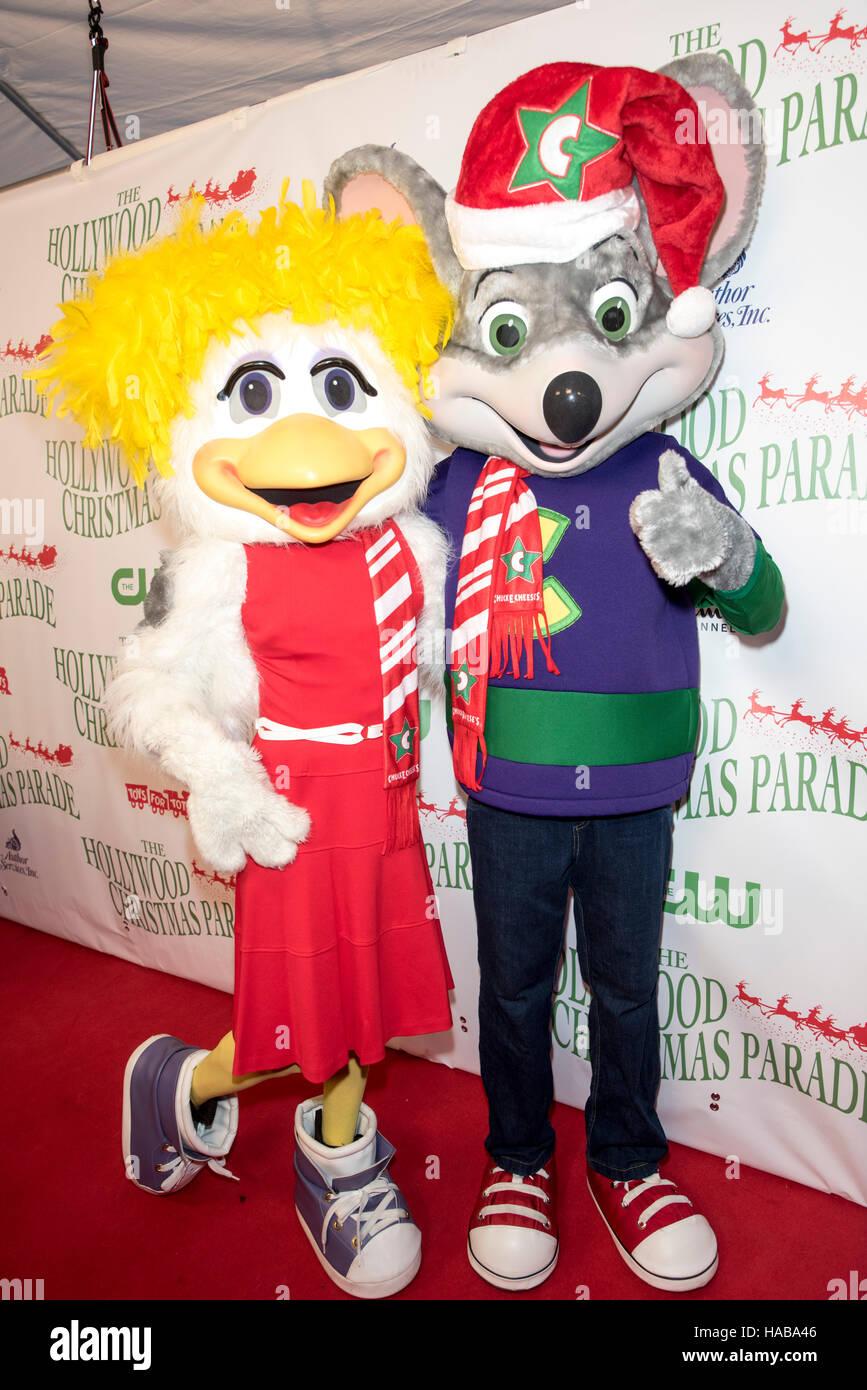 Chuck E Cheese Christmas.Hollywood Usa 27th Nov 2016 Chuck E Cheese And Helen