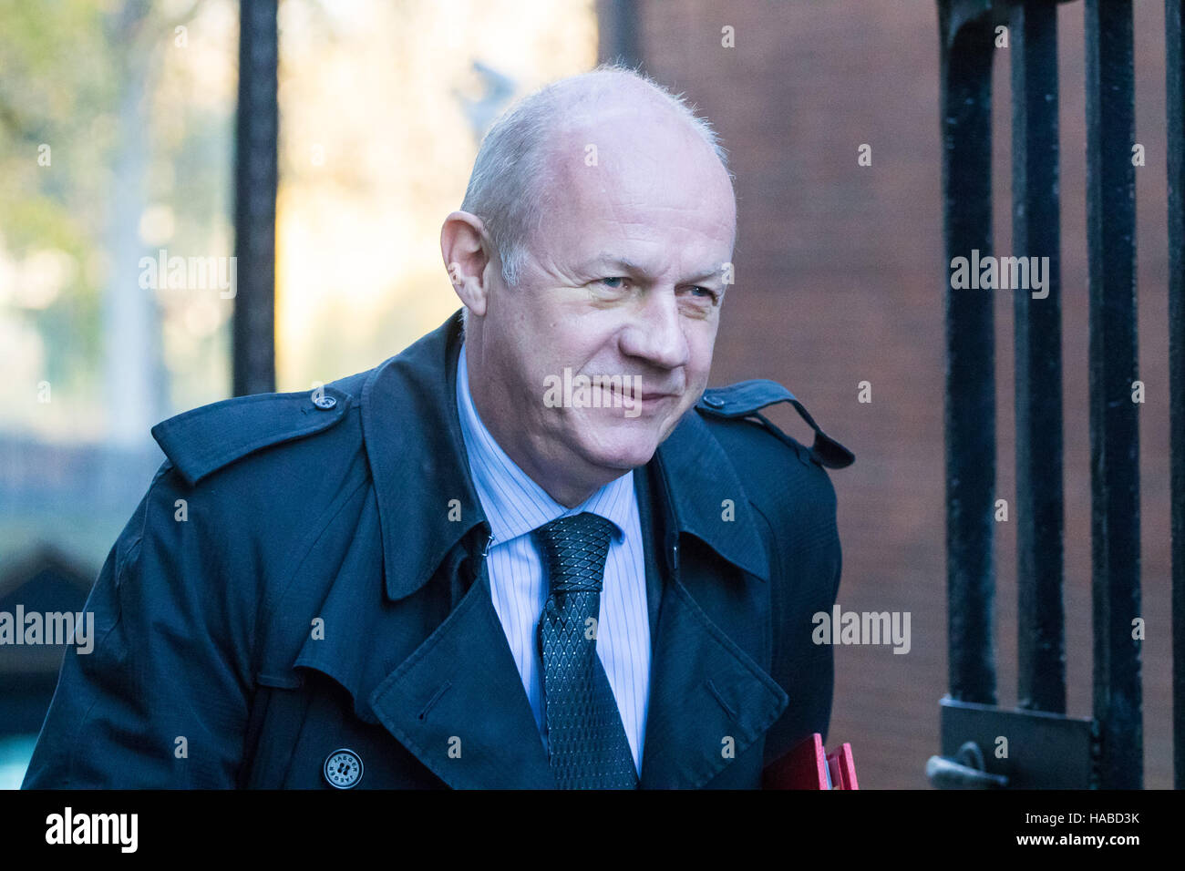 Downing Street, London, November 29th 2016. Work and Pensions Secretary Damian Green arrives at 10 Downing Street - Stock Image