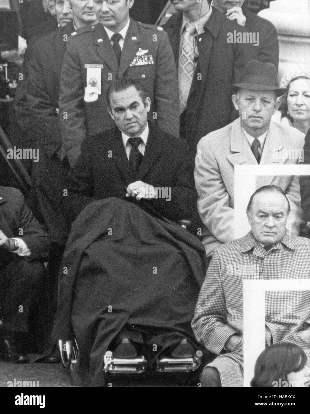 Former Democratic candidate for the President of the United States Governor George C. Wallace (Democrat of Alabama) in wheelchair listens as US President ...  sc 1 st  Alamy : president in wheel chair - Cheerinfomania.Com