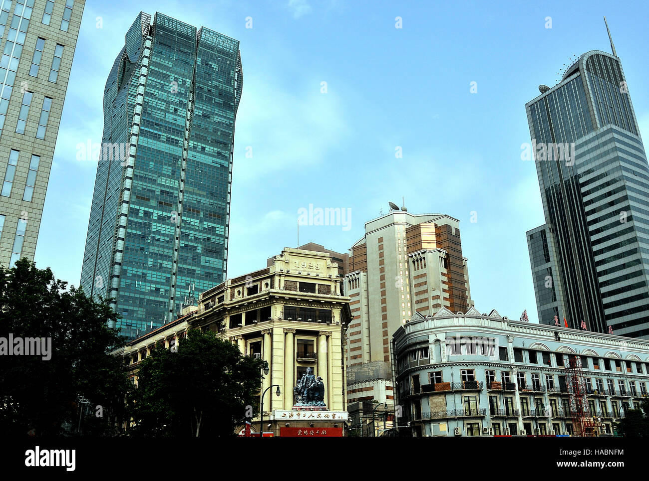modern buildings shanghai china stock photos modern buildings
