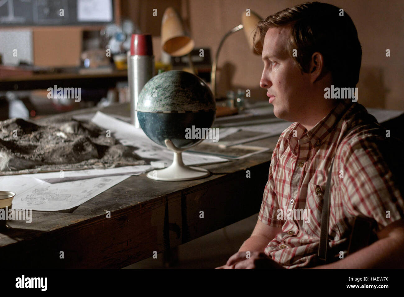 Operation Avalanche is 2016 American-Canadian found footage conspiracy thriller black comedy film directed by Matt - Stock Image
