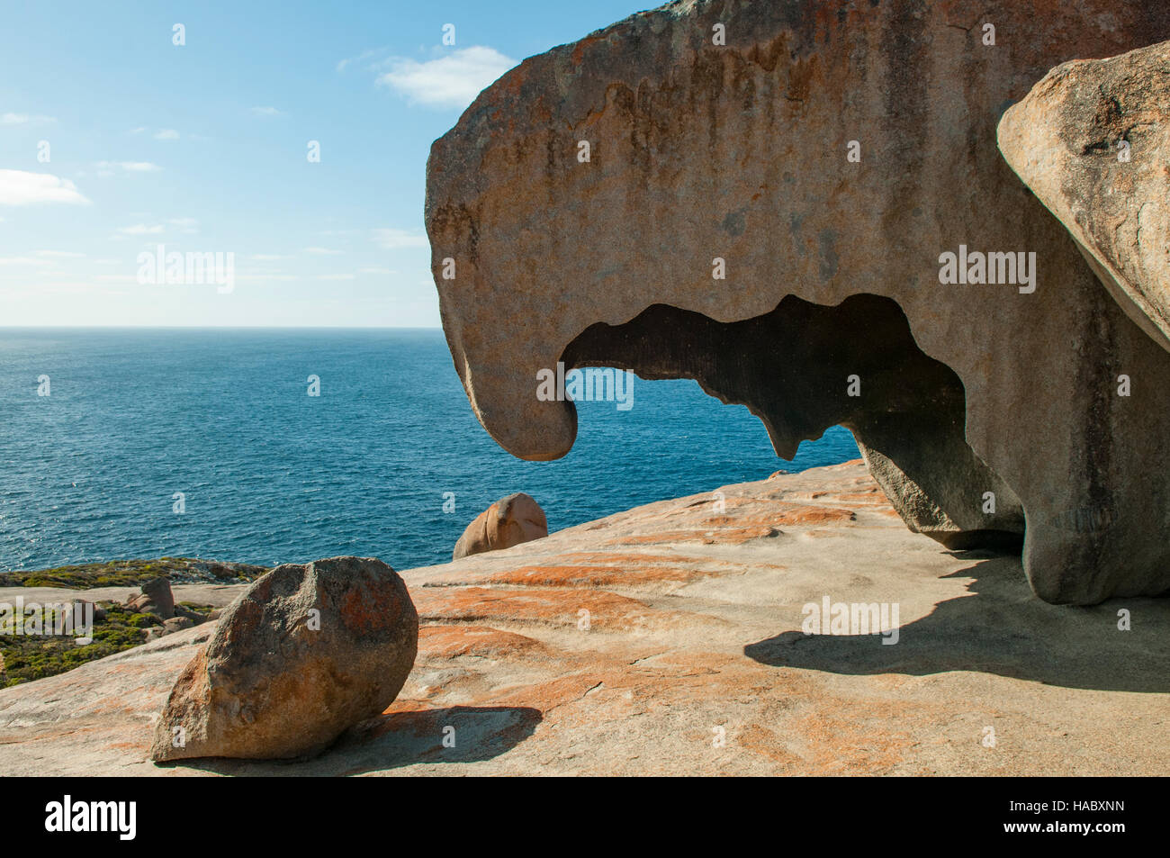 Remarkable Rocks, Kangaroo Island, South Australia, Australia - Stock Image