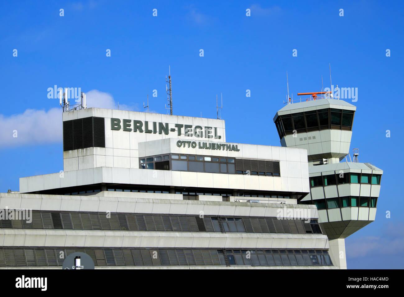 Tegel Airport Berlin Germany Europe EU  KATHY DEWITT - Stock Image
