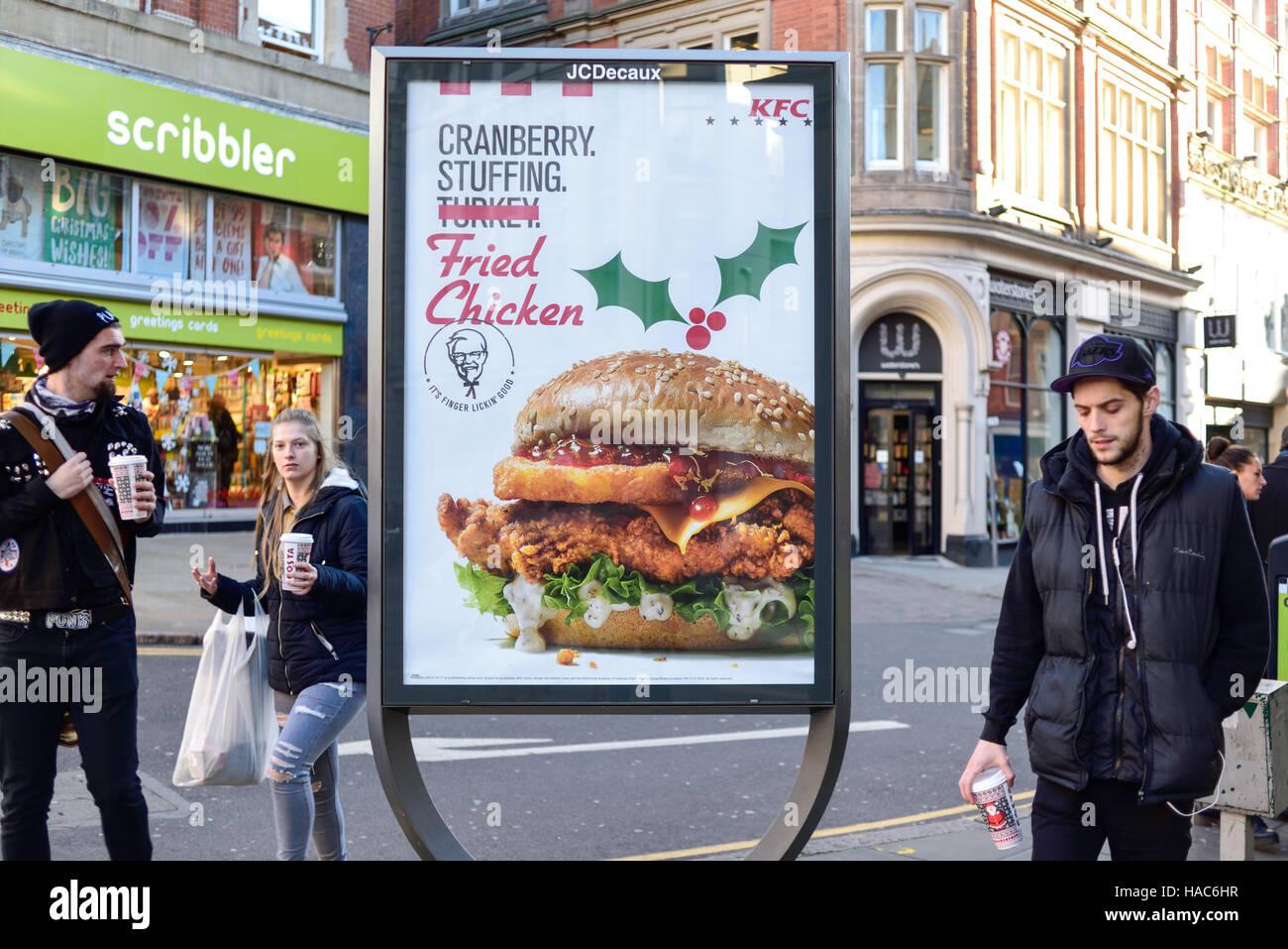 Kfc Advertising Stock Photos & Kfc Advertising Stock Images - Alamy