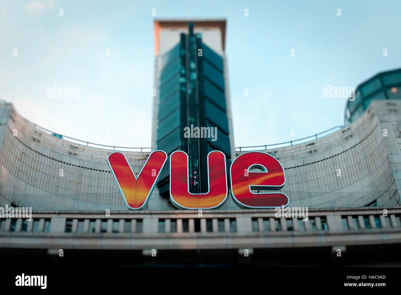 Vue Cinema, Leicester Square, London, Britain - Stock Image