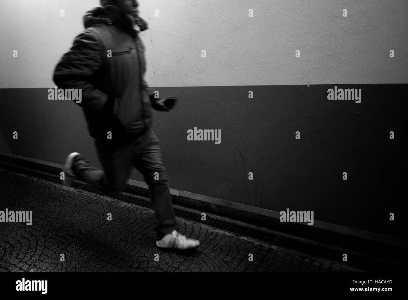 Running man - Stock Image