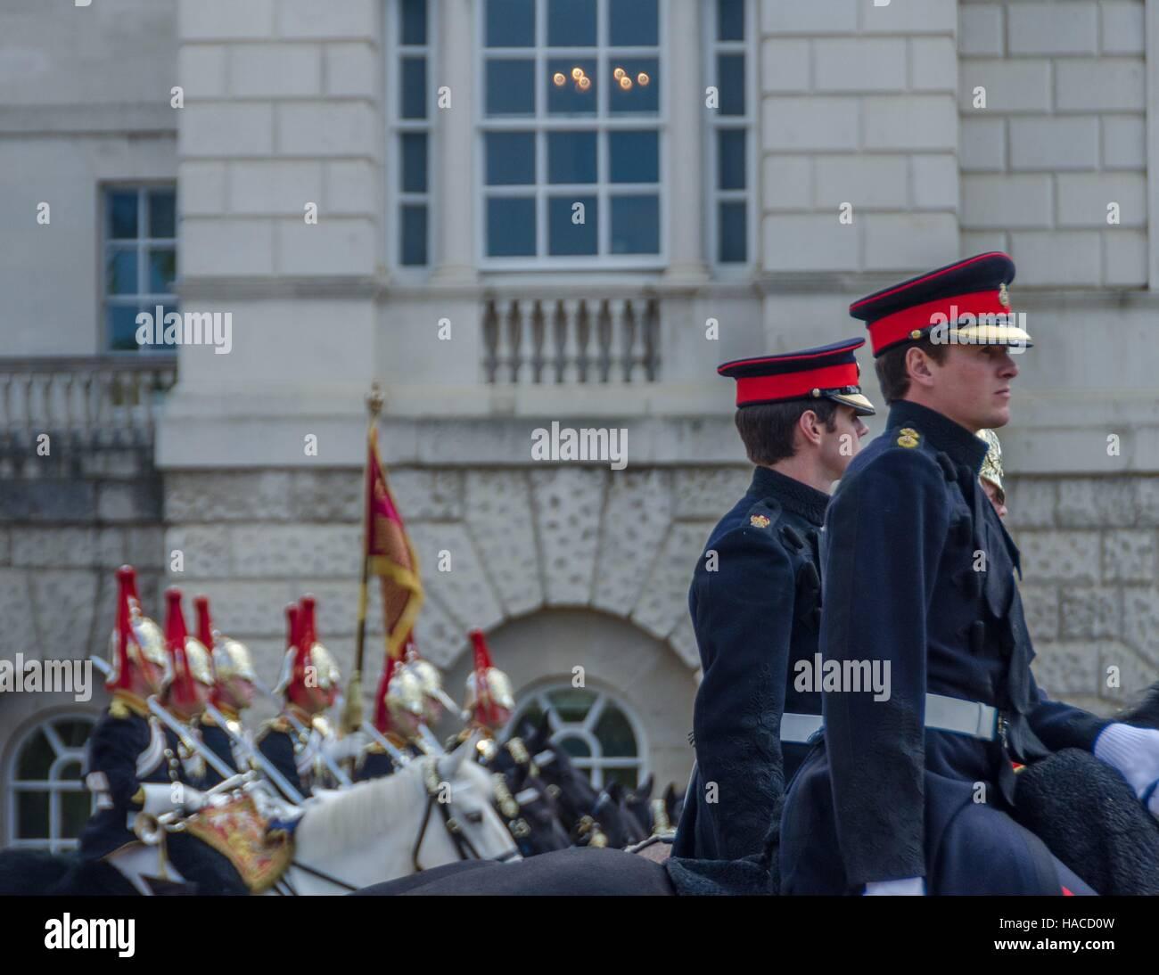 The Horse Guards Parade, London, England Stock Photo