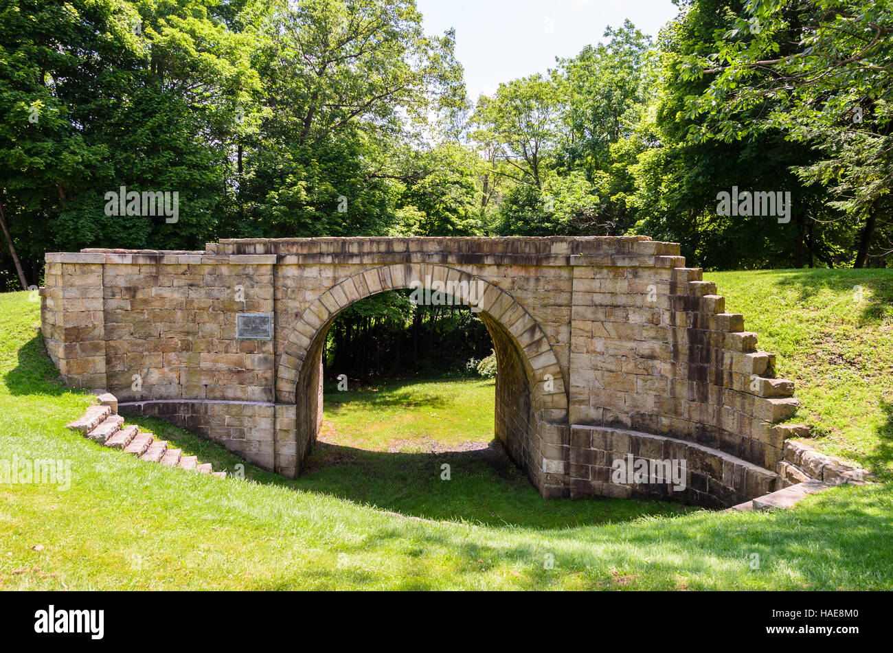 Allegheny Portage Railroad National Historic Site - Stock Image