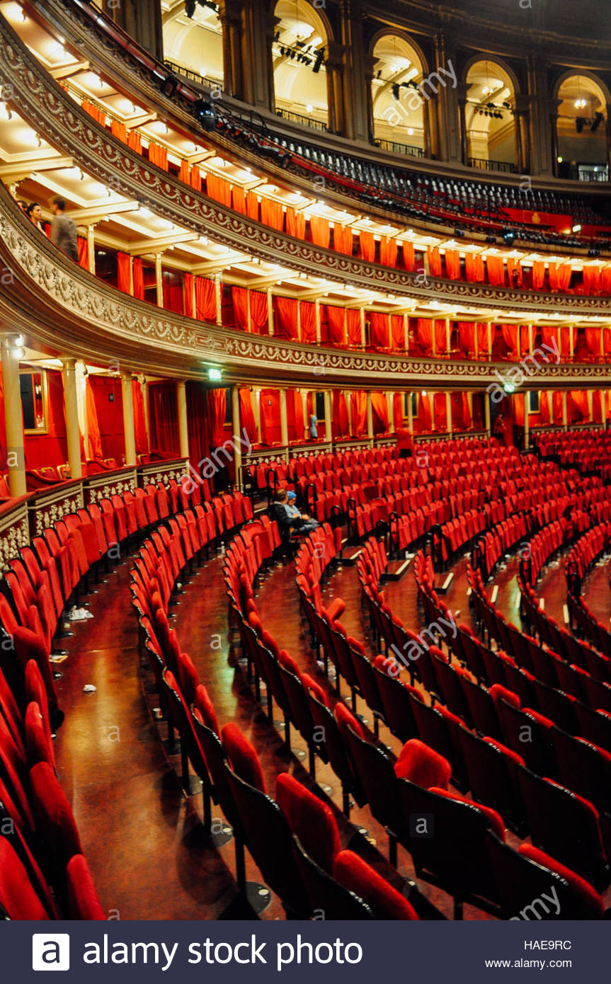 Royal Albert Hall, Kensington, London - Stock Image