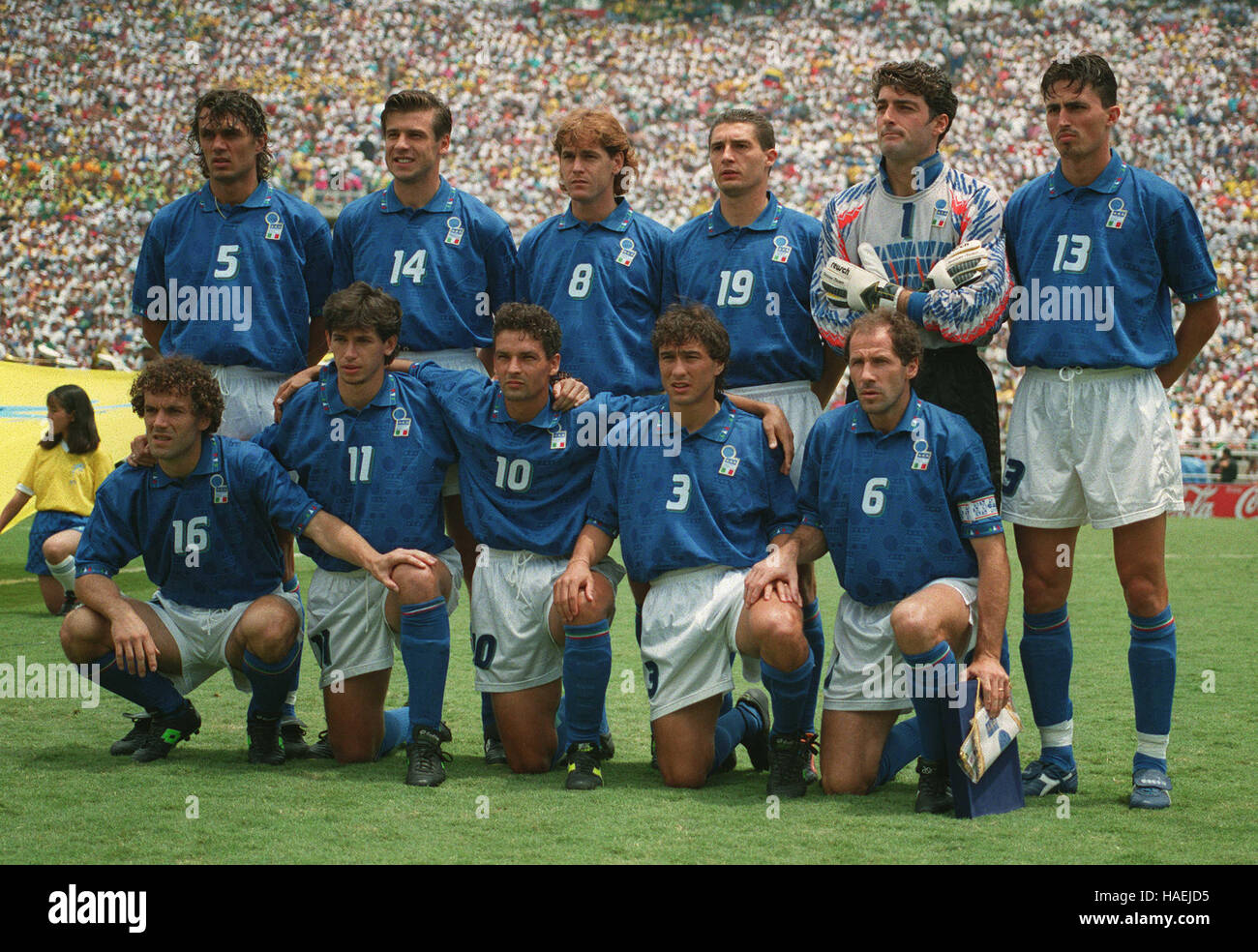 ITALY WORLD CUP FINAL 1994 17 July 1994
