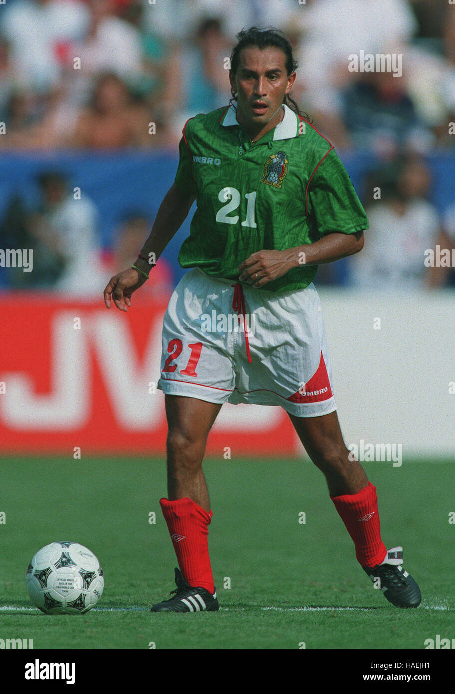 RAUL GUTIERREZ MEXICO 22 July 1994 - Stock Image