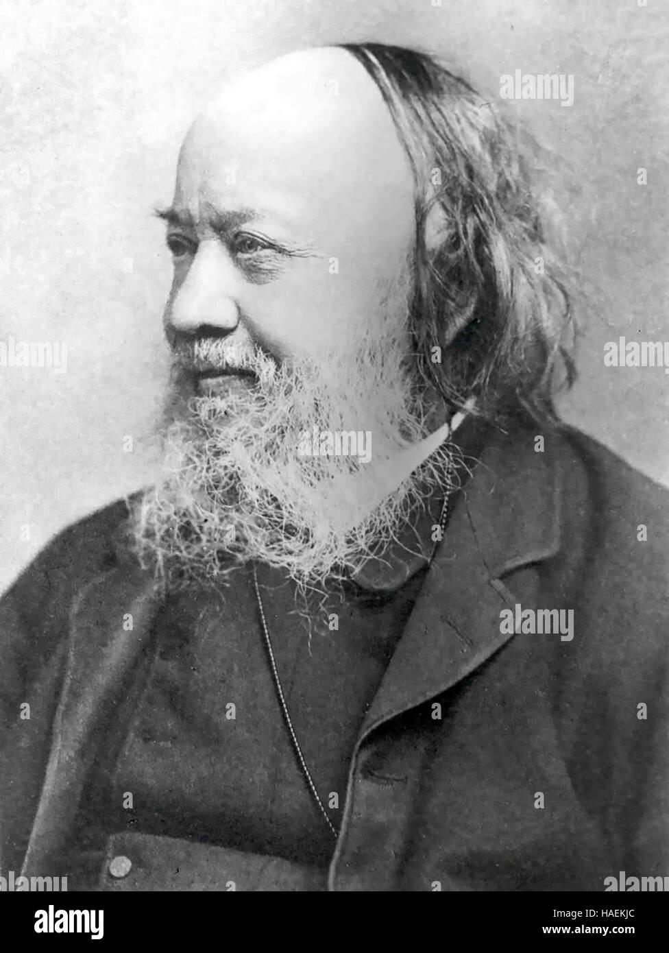 EDWIN CHADWICK (1800-1890) English social reformer - Stock Image