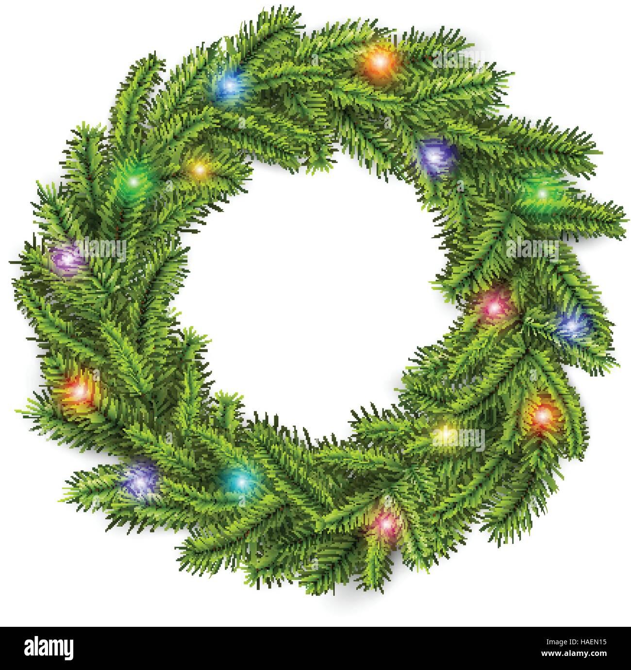 Christmas Lights Stock Vector Images - Alamy