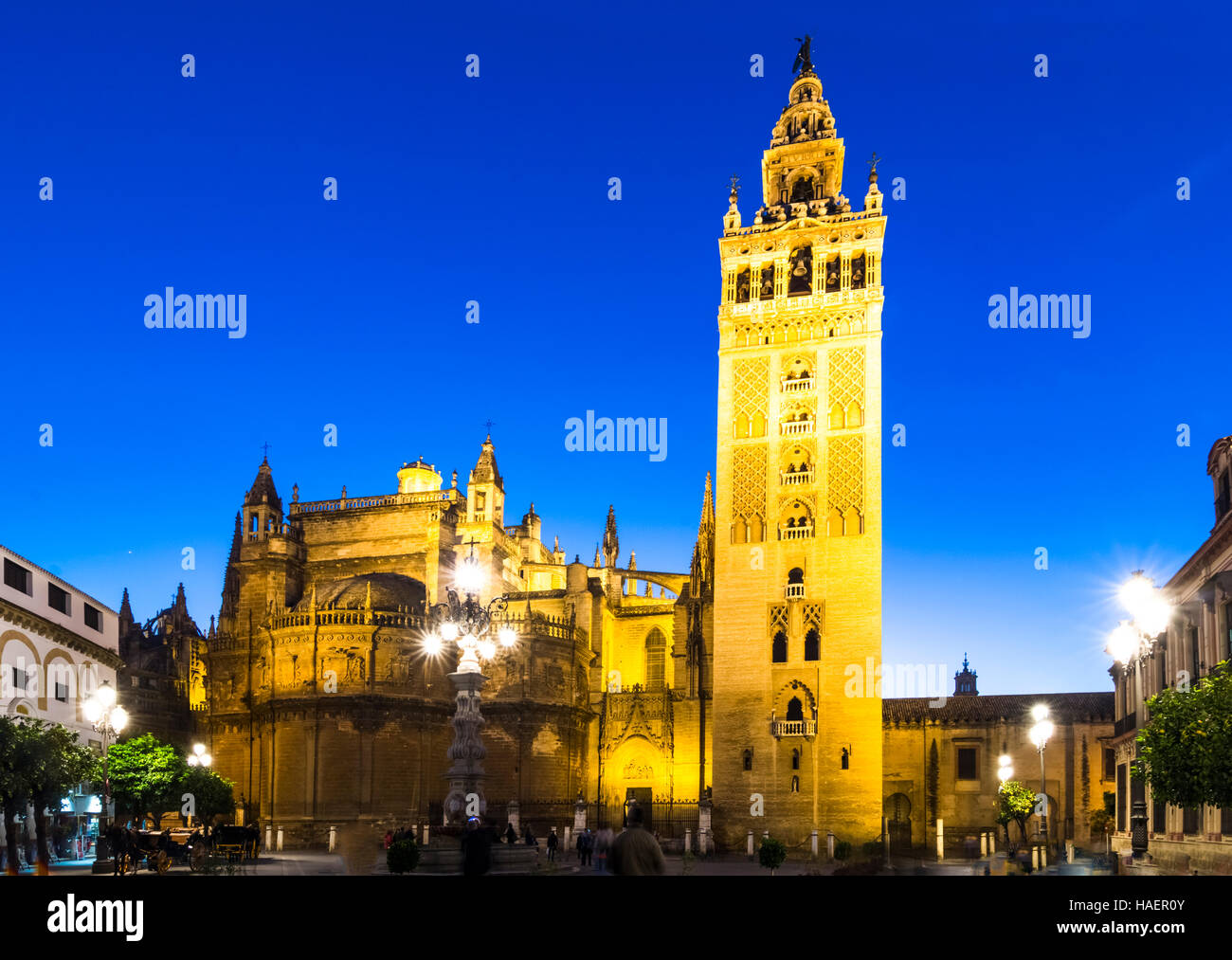 Giralda tower,Seville, Andalusia, Spain - Stock Image