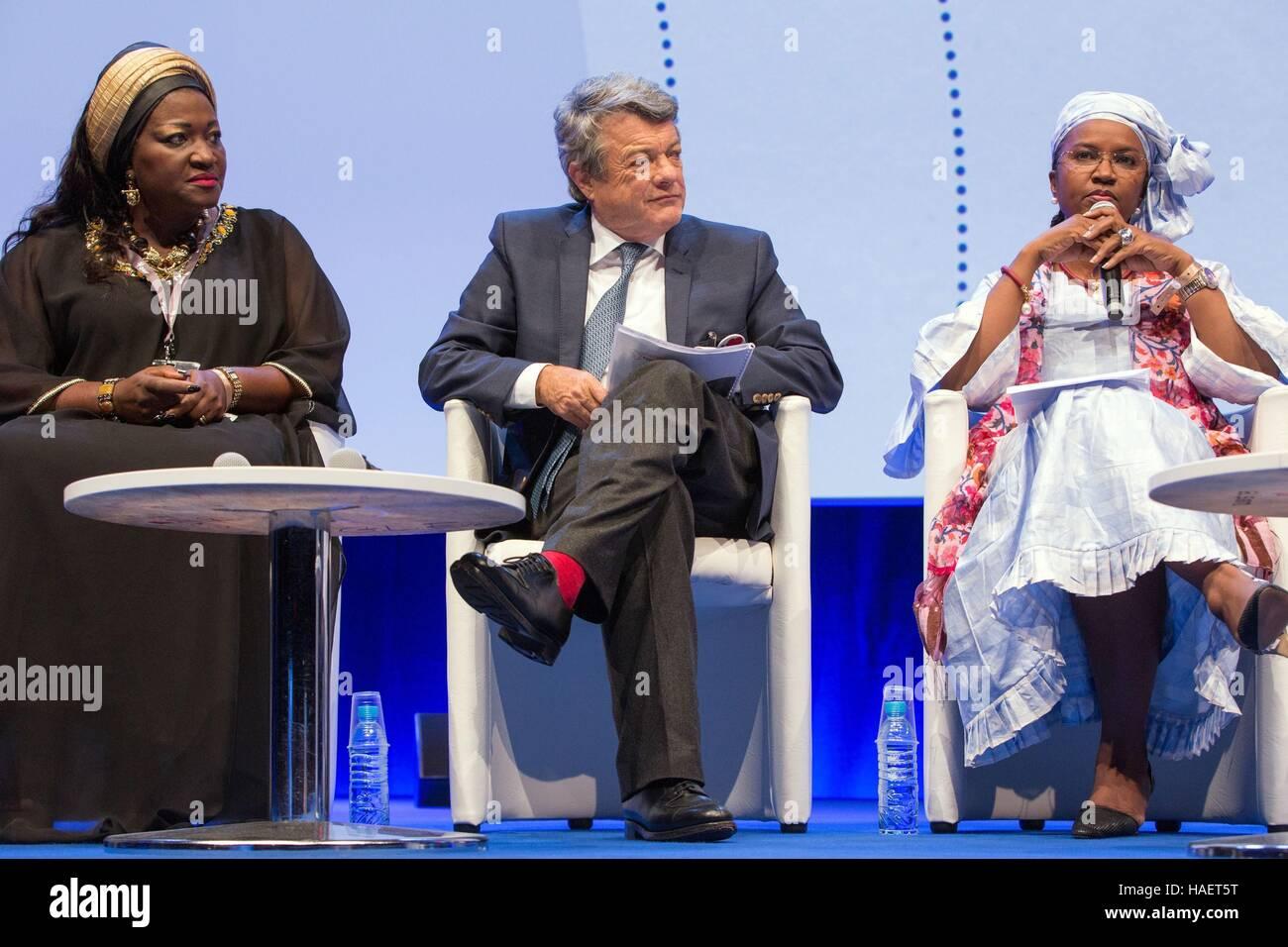 JEAN-LOUIS BORLOO, ENERGY FOR AFRICA - Stock Image