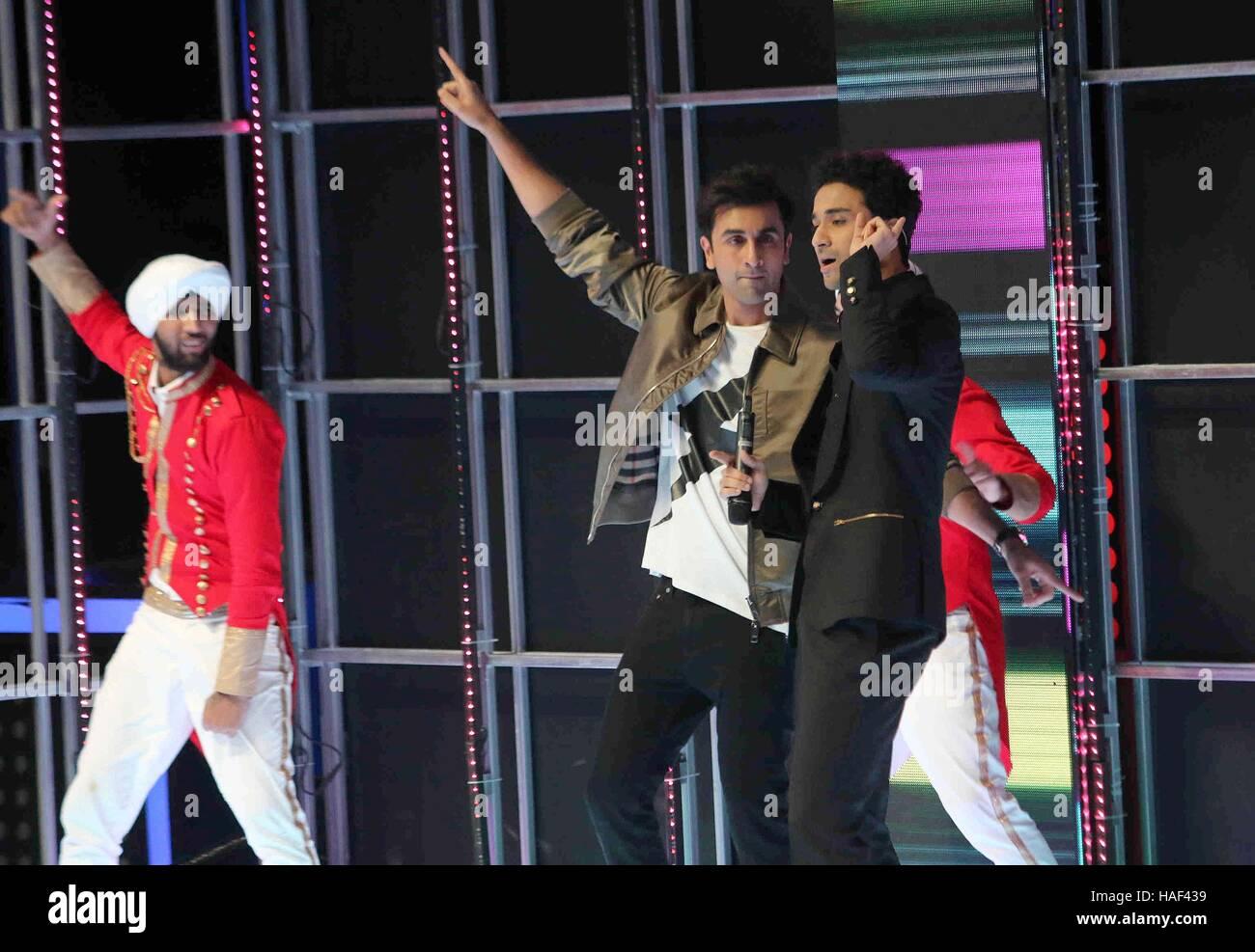 Bollywood actor Ranbir Kapoor during the grand finale of Dance Plus Season 2, in Mumbai, India on September 24, - Stock Image