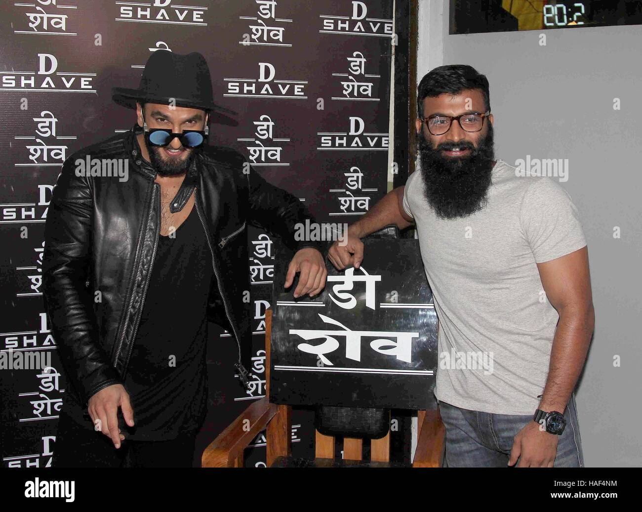 66cccc00fc Bollywood actor Ranveer Singh during the launch of new age barber shop D  Shave