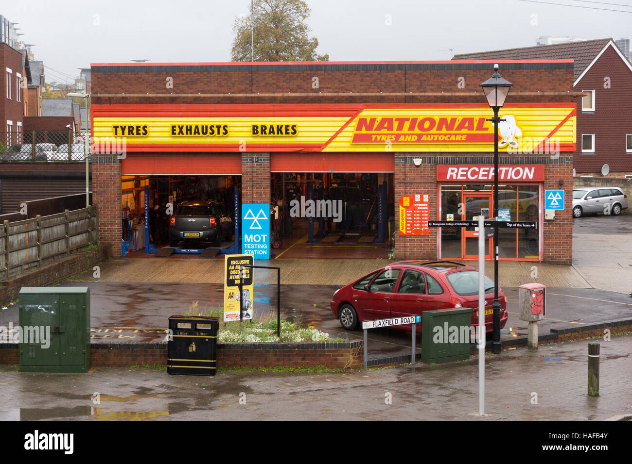 tyres garage stock  tyres garage stock images alamy