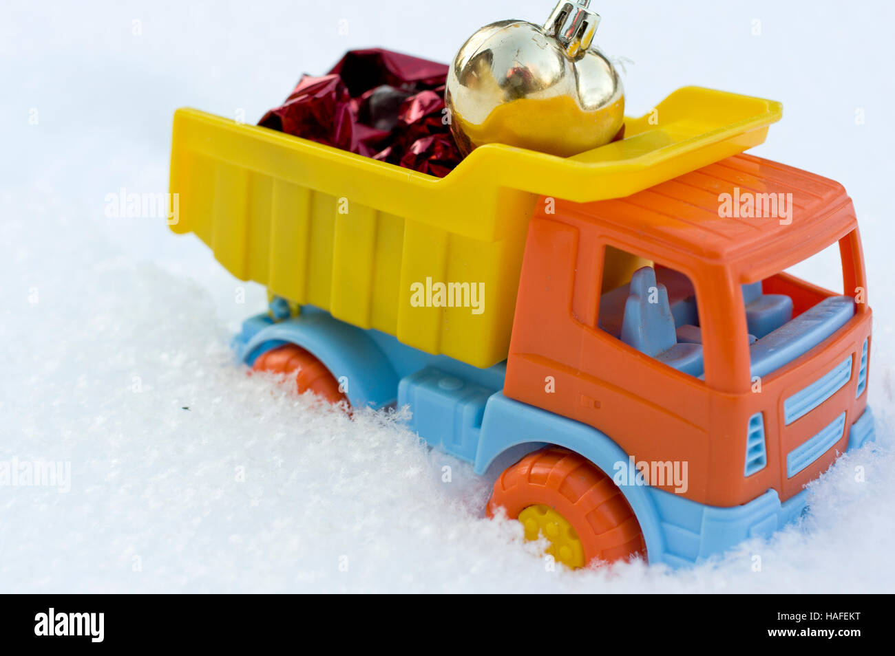 Christmas gifts delivery Stock Photo: 126959948 - Alamy