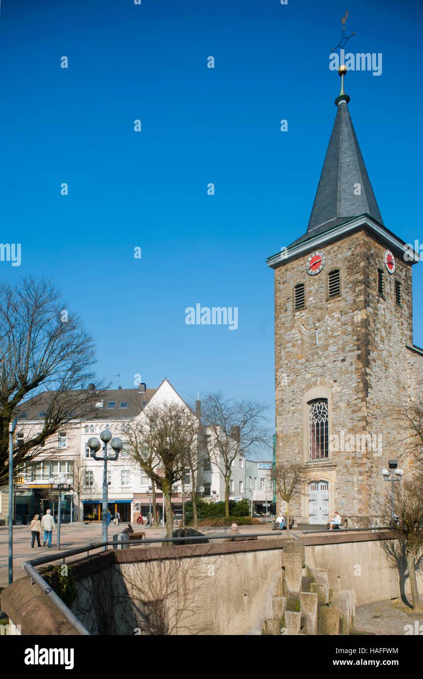 Deutschland, Nordrhein-Westfalen, Kreis Mettmann, Velbert, 'Alte Kirche' - Stock Image