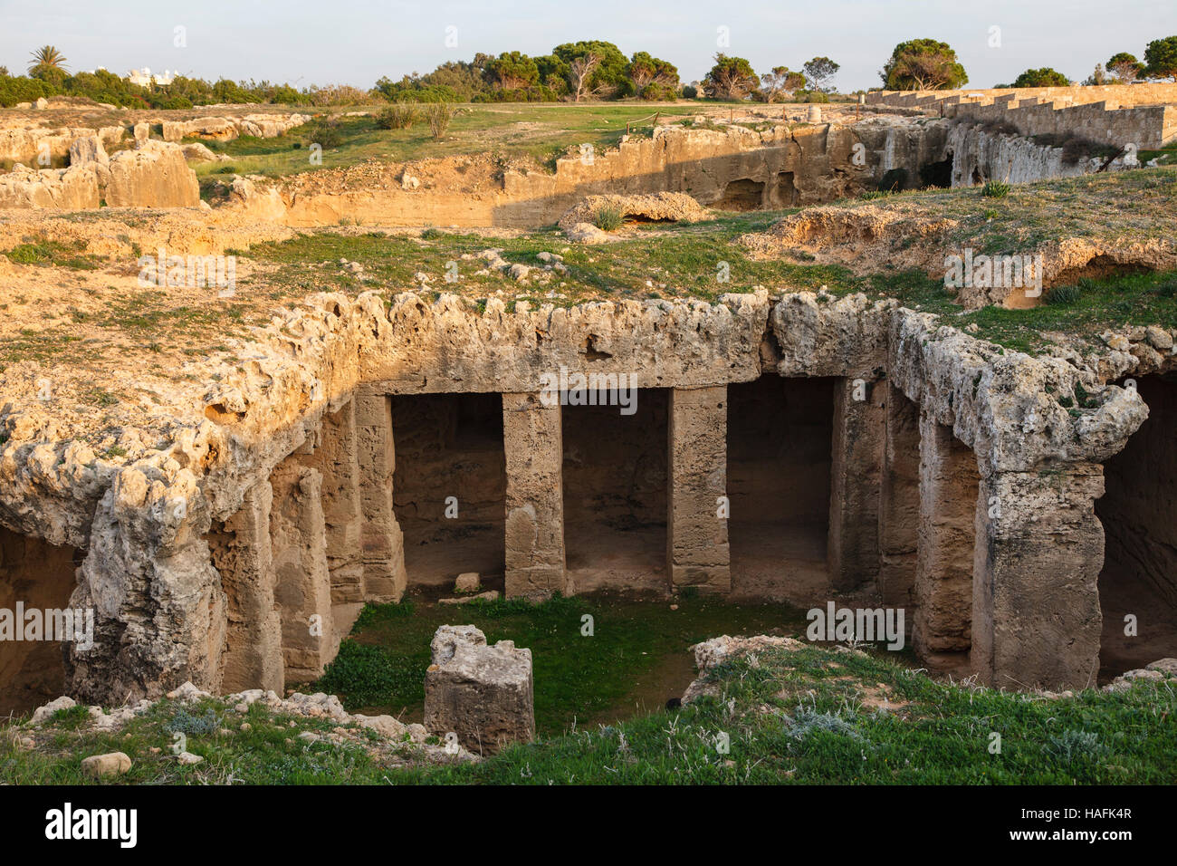 Tombs of the Kings, Paphos, Cyprus - Stock Image