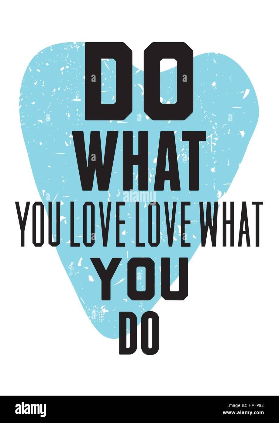 Vintage motivational quote typography. Grunge background - Stock Image