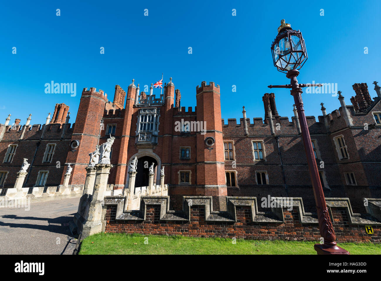 Hampton Court Palace, UK - Stock Image